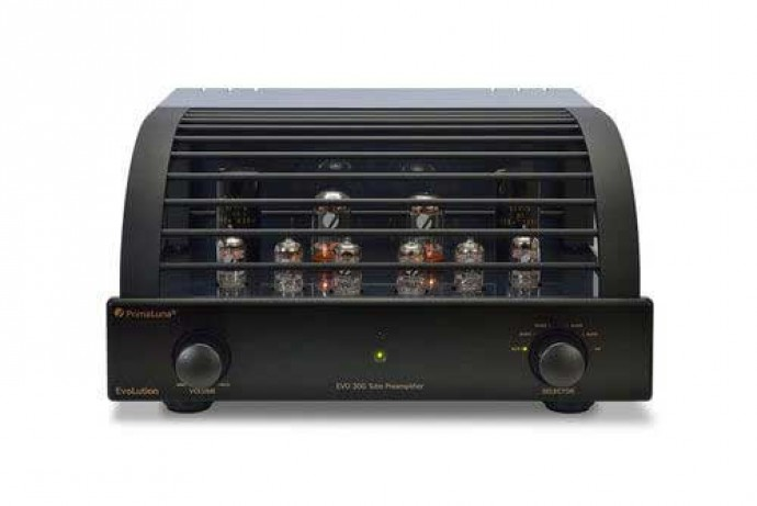 PrimaLuna Evolution 300 EVO 300 Preamplifier Black