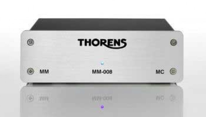 Thorens MM 008 Silver