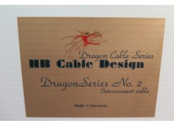HB Cable Design Dragon Series No.2 XLR 1,5m